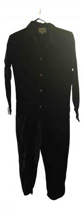 Polder Black Cotton Jumpsuits