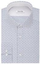 Calvin Klein Slim Fit Printed Dress Shirt