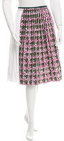 Sophie Theallet Printed Pleated Skirt w/ Tags
