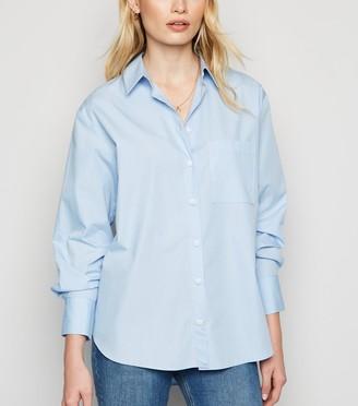 New Look Oversized Poplin Shirt