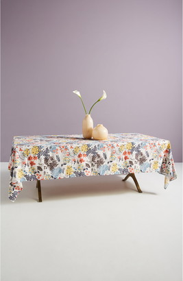 Anthropologie Home Rosie Floral Tablecloth