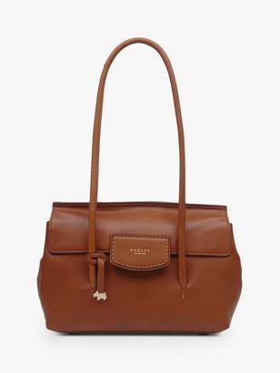 Radley Indigo Place Leather Medium Flap Over Shoulder Bag