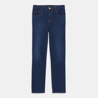 J Brand Adele Mid-Rise Straight Jean in Comfort Stretch