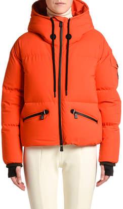 Moncler Oversized Puffer Jacket w/ Drawstring Hood