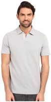 Perry Ellis Open Collar Jacquard Polo