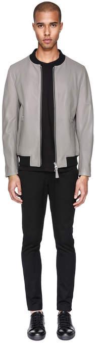 Mackage FERGUS Genuine lamb leather aviator-style bomber jacket