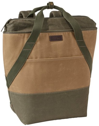 L.L. Bean Insulated Backpack, Waxed Canvas