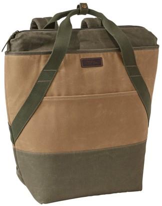 L.L. Bean L.L.Bean Insulated Backpack, Waxed Canvas
