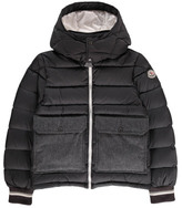 Moncler Rebelais Hooded Down Jacket