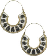 Lacquered Crescent Earrings
