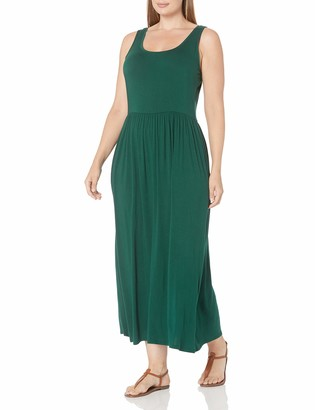 Amazon Essentials Plus Size Tank Waisted Maxi Dress