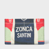 Paul Smith Men's Leather 'Cycling Jerseys' Print Credit Card Holder