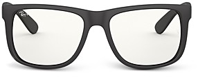 Ray-Ban Unisex Everglasses Square Clear Glasses, 53mm