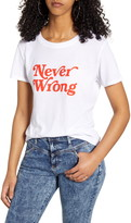 Sub Urban Riot Never Wrong Graphic Tee