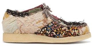 By Walid 19th-century Piano Shawl Trainers - Multi