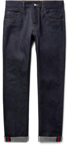 Gucci Slim-Fit Stretch-Denim Jeans