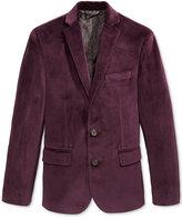 Lauren Ralph Lauren Boys' Burgundy Velvet Suit Jacket