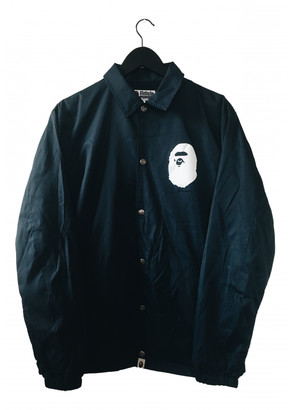 A Bathing Ape Navy Synthetic Jackets