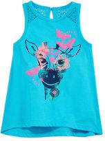 Arizona Sleeveless Lace-Inset Top - Baby Girls 3m-24m