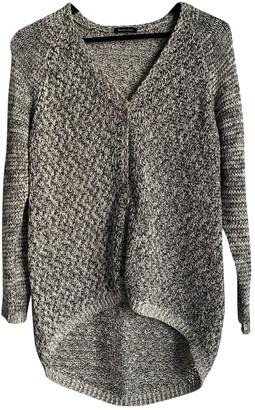 Massimo Dutti Grey Cotton Knitwear for Women