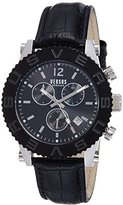 Versus By Versace Men's SOH070015 Madison Analog Display Quartz Black Watch