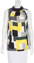 Kate Spade Geo Print Sleeveless top