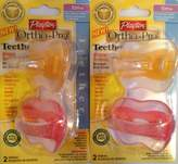 Playtex Ortho-Pro Teether 10m+ (2 Packs of 2)