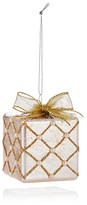 Bloomingdale's Glass Gift Box Ornament