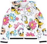 MonnaLisa Printed hoodie - Minnie & Daisy