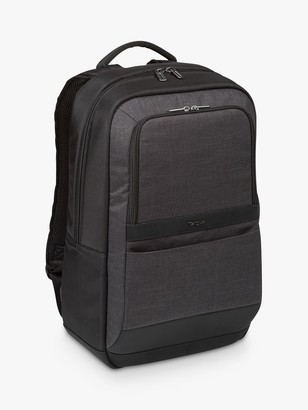 "Targus CitySmart Essential Backpack for Laptops up to 15.6"", Black/Grey"