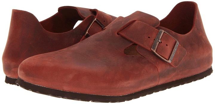 Birkenstock London (Henna Oiled Leather) - Footwear
