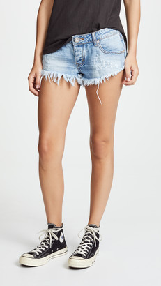 One Teaspoon Hustler No 2s Shorts