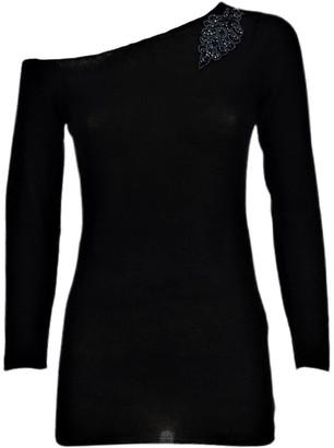 Graciela Huam Maxima Drop Shoulder Top - Black