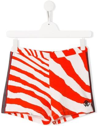 Roberto Cavalli Junior TEEN animal print shorts