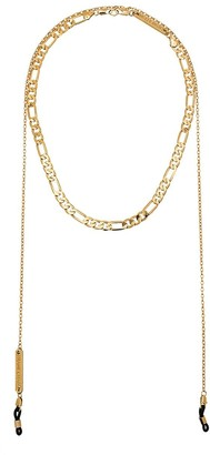 Frame Chain Gold-Plated Chain Choker Necklace