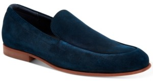 Calvin Klein Men's Leif Silky Suede Loafers Men's Shoes