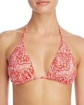 Echo Tropez Paisley String Bikini Top