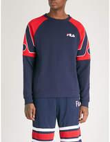 Fila Logo-print cotton-blend sweatshirt