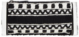 Edie Parker Soft Lara Embroidered Clutch Bag, Black Multi