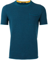 Roberto Collina short sleeve sweater - men - Cotton/Polyamide - 48
