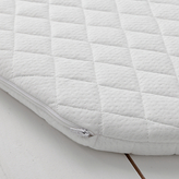 John Lewis Premium Foam Moses Basket Mattress, 70 x 29cm