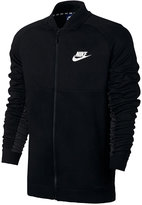 Nike Men's Advance 15 Mixed Media Bomber Jacket