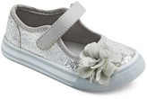 Circo Toddler Girls' Jeri Mary Jane Sneakers Silver