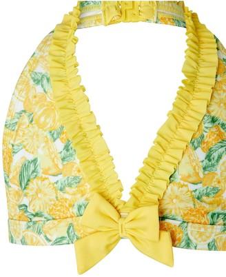 Monsoon Girls S.E.W. Layla Lemon Bikini - Yellow