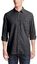 Dockers Long Sleeve Basic Solid Chambray Shirt