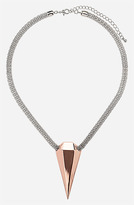 Topshop Spike Mesh Necklace