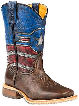 Justice Tin Haul Shoes Boys' Western Boot