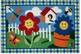 Fun Rugs Fun RugsTM Olive KidsTM Happy Flowers Rug - 19'' x 29''