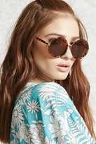 Forever 21 Round Tortoiseshell Sunglasses