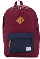 Herschel diamond print backpack